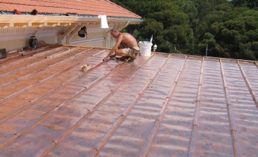 Toiture cuivre - Desamianter une toiture ...