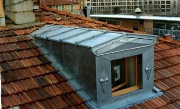Creation fenetre de toit isolation sous toiture garage for Loi pope isolation garage