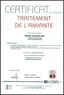 D samiantage toiture 06 roger cuilliere entreprise certifi e - Desamianter une toiture ...